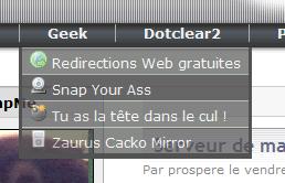 menu,deroulant,CSS,transparence,javascript