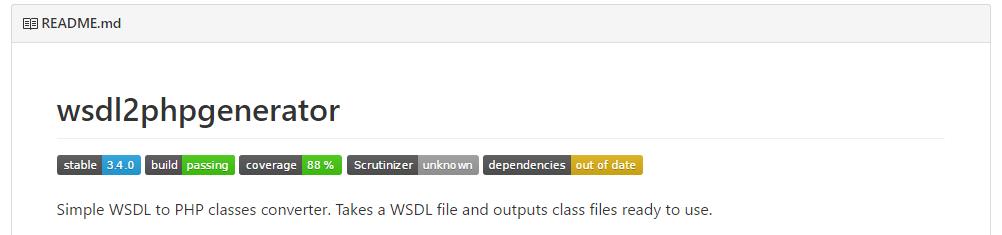Wsdl2phpgenerator : Un générateur de client webservice SOAP