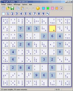 sudoku,logiciel